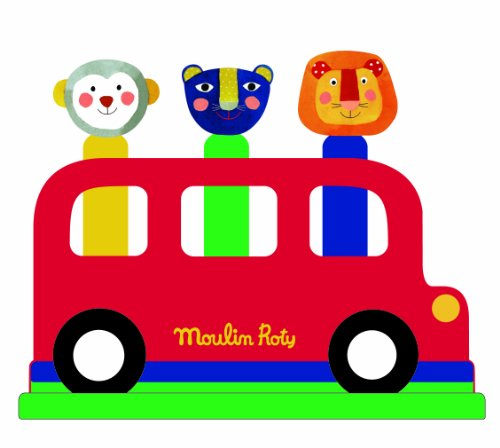 Moulin Roty Pop Up Bus Toy - 1