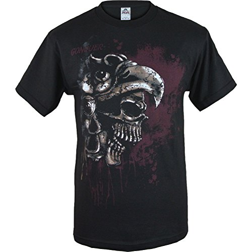 Skeleton Aztec Warrior Shirt