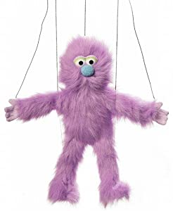 Marionette Purple Monster by Silly Puppets