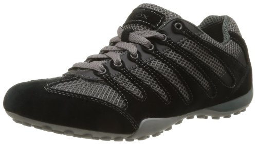 Geox Men's U Snake B Trainers Gray Gris (Stone/Black) 12 (46 EU)