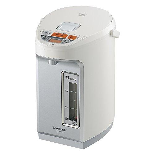 Zojirushi microcomputer boiling VE electric thermos 3.0L (YUUTOUSEI) CV-WA30-WZ prime White (Zojirushi Thermos White compare prices)