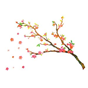 Cherry Blossom Decorative Vinyl Wall Art Sticker Decal