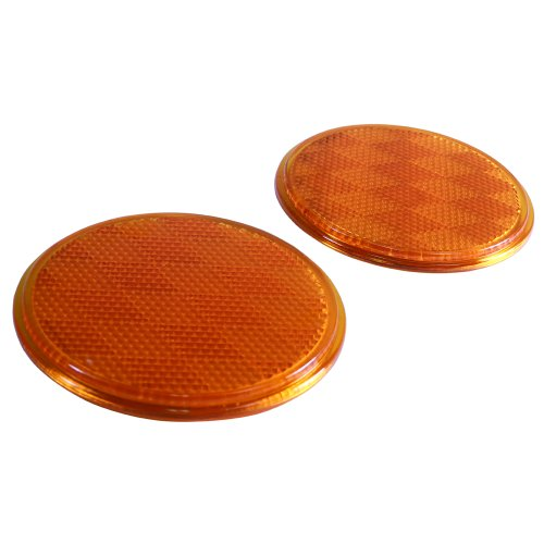 "RVTravelMats 3"" Round Amber Reflectors (2 Pack) at Sears.com"