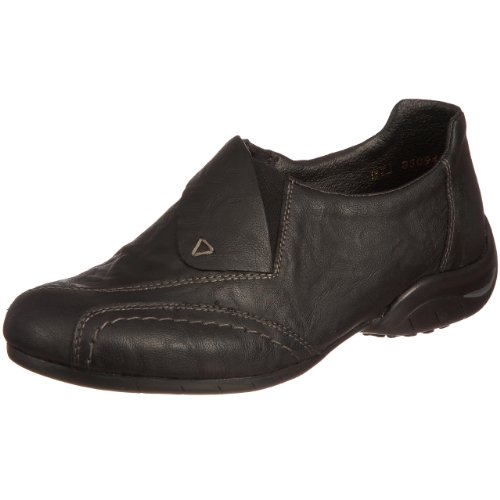 Rieker Women's Mia L4475 Black Comfort L4475/00 8 UK,42 EU