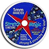 Stretch Magic Clear Bead Cord 1mm width 5 meters 42329