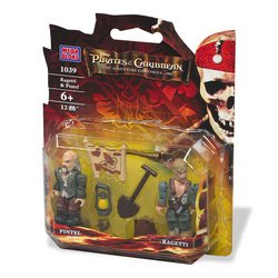 Picture of Mega Brand Pirates of the Caribbean: Ragetti & Pintel Figure 2-Pack (B000OT8ITM) (Mega Brand Action Figures)