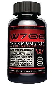 Ubervita W700 Thermogenic Hyper Metabolizer Capsules, 60 Count