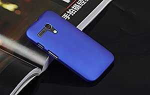 Motorola Moto G Case Grip Case Cover Shell for Moto G (case-blue)