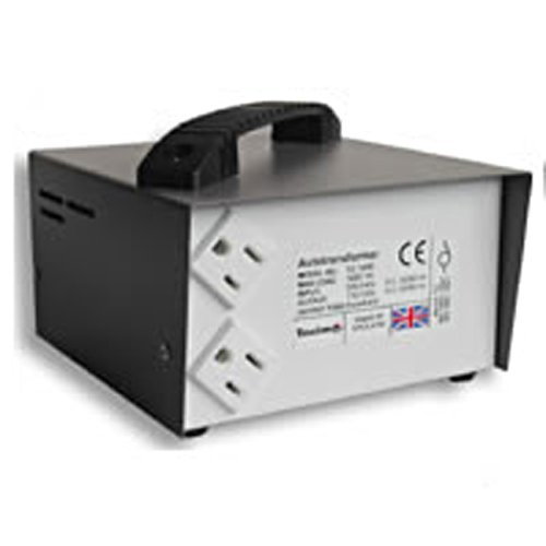 Tacima Step Down Transformer - 240/120V - 2000VA (2 sockets)