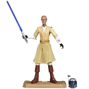 Star Wars: Clone Wars 2012 Animated Series 3.75 inch Mace Windu Action Figure by Hasbro Inc