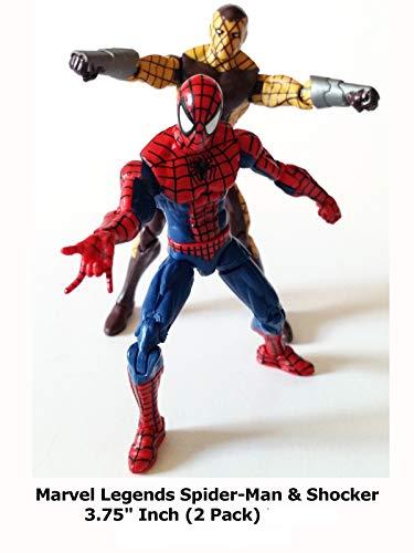 Clip: Marvel Legends Spider-Man & Shocker 3.75