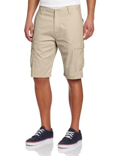 Volcom - Mens Racket Cargo Shorts, Size: 30, Color: Khaki