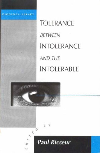 Tolerance Between Intolerance and the Intolerable (Diogenes library)