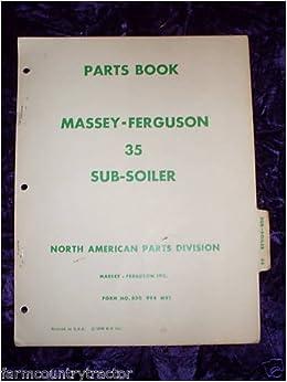 massey ferguson 35 parts manual free download