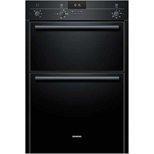 Siemens IQ-100 HB13MB621B Built In Double Oven - Black. It Will Perfeclty Look Great Built Into Your Kitchen