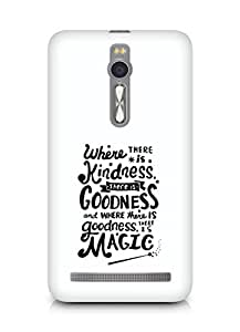 AMEZ where there is kindness there is goodness Back Cover For Asus Zenfone 2