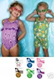 Finis Children's Candy Shop Scented Swim/Swimming Goggles for Tiny Tots-Grape Taffy