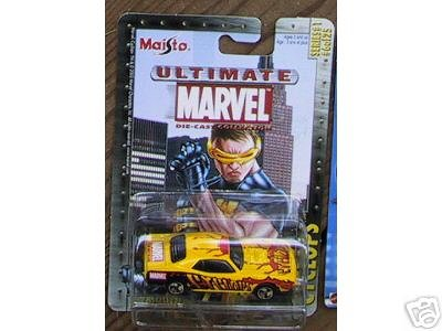 Ultimate Marvel Die Cast Collection - Cyclops - Plymouth Hemi Cuda - 1