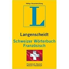 Schweizer Wörterbuch Französisch bei Langenscheidt