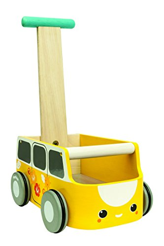 Plan Toys Van Walker, Yellow