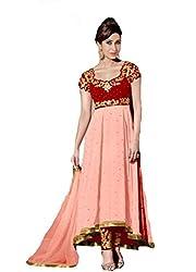 Shayona Salwar suit for women & girls(peach)