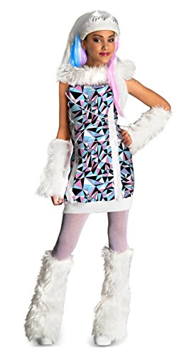 Monster High Abbey Bominable Costume - Large front-508599