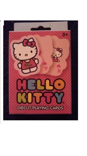 Hello Kitty Diecut Playing Cards - 1
