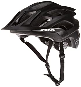 Fox Men's Flux Helmet, Matte Black, Large/X-Large