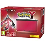 Nintendo Handheld Console 3DS XL - Red and Black Limited Edition with Pokemon Y