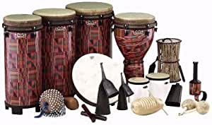World Music Drumming Package B (with Standing Ngoma Drum)