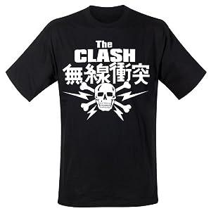 Clash - T-Shirt Skull (in L)