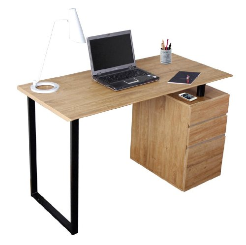 Rta-1305 Computer Desk With Storage And File Cabinet