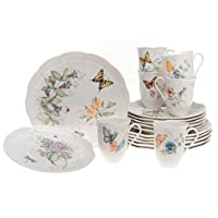 Lenox Butterfly Meadow 18-Piece Dinnerware Set, Service for 6