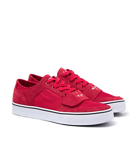 Creative Recreation Cesario Lo XVI Rosso Mesh Trainers, Rosso