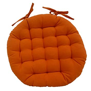 Galette Chaise Ronde Orange