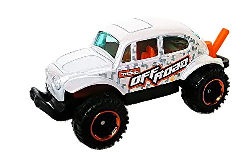 Matchbox Volkswagen Beetle 4×4 weiß Off Road – VW Käfer – MBX Explores als Weihnachtsgeschenk