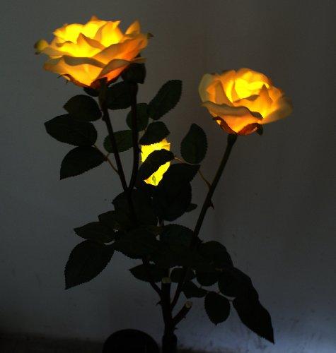 Innoo Tech Outdoor Solar String Lights 21ft 50 Led Blossom Flower Fairy Light For Garden Patio Wedding Party Bedroom