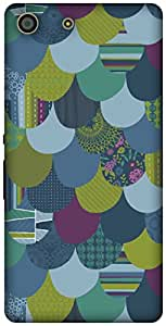 The Racoon Grip printed designer hard back mobile phone case cover for Sony Xperia M5. (Rain)