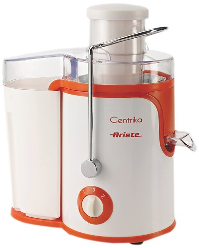 Ariete 400 Watt Centrika Juicer, Orange from Ariete