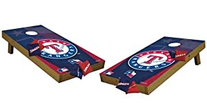 Texas Rangers Tailgate Toss Cornhole (Shields) by Tailgate Toss
