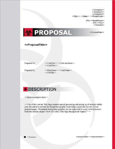 Proposal Pack Safety #1 V15.0 - 2014