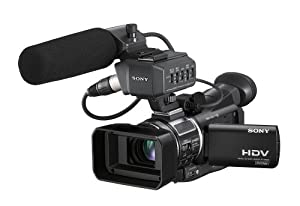 Sony Professional HVR-A1U CMOS High Definition Camcorder with 10x Optical Zoom