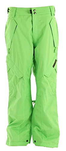 Ride Phinney Ski Snowboard Pants Green Sz M