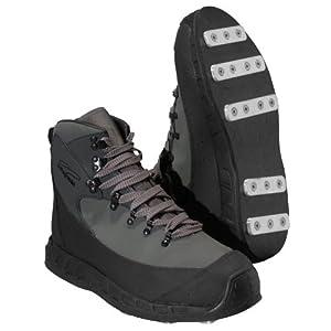 Buy Patagonia Rock Grip Wading Boot - Aluminum Bar Narwhal Grey, 12 by Patagonia