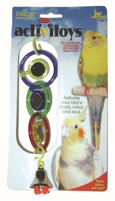 Cheap Brand New, JW PET COMPANY, INC – BIRD ACTIVITOY TRIPLE MIRROR (BIRD PRODUCTS – BIRD – TOYS: VARIOUS) (MSSJW31049-LT|1)