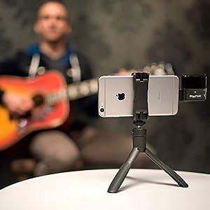 IK Multimedia iKlip Grip Bluetoothシャッター付き スマホ用多機能スタンド (IKマルチメディア) 国内正規品