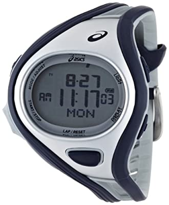 Asics Unisex Challenge CQAR0402 Blue Polyurethane Quartz Watch with Digital Dial from Asics