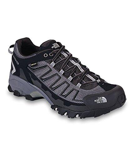 Men's The North Face Ultra 109 GTX Trail Running Shoe TNF Black/Dark Shadow Grey Size 11.5 M US