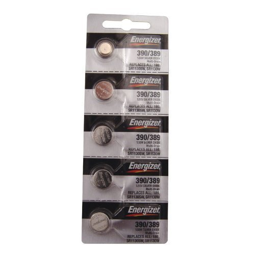 Energizer 390/389 Silver Oxide Cd/5