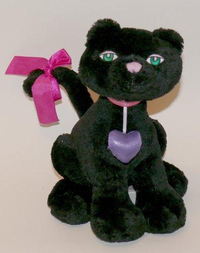 Cattitudes Gund Miss Cattitude 10 inch Black Plush Cat - 1